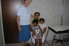 Visitando una famiglia