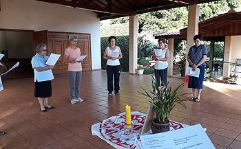 Incontro delle coordinatrici della Fraternità del Brasile